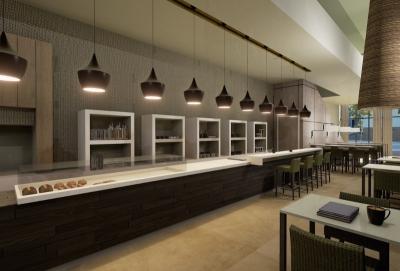Starwood Element hotel - Bar